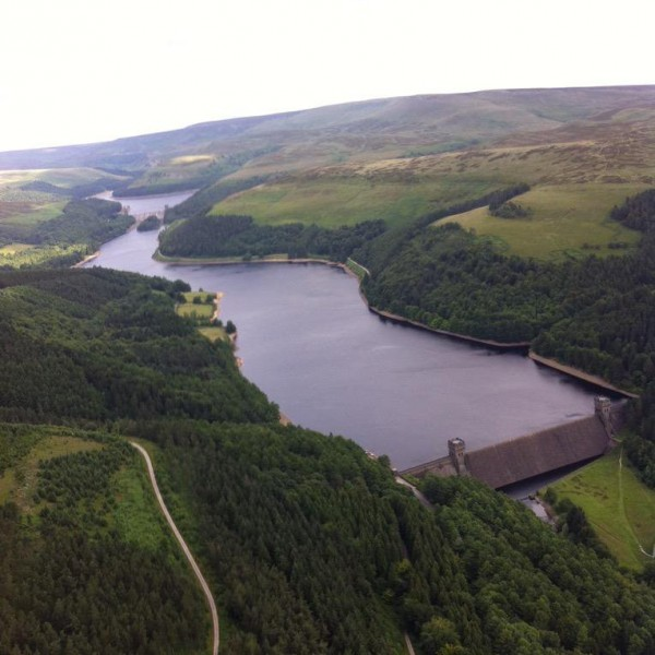 The Peak District dams