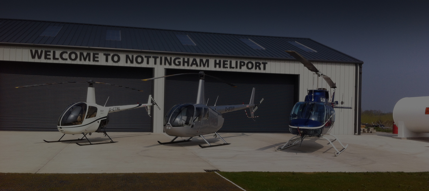 Our fleet of helicopters