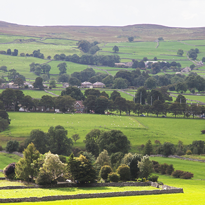 The beautiful Yorkshire countryside