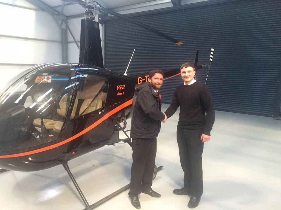 Central Helicopters: Helicopter pilot training successes