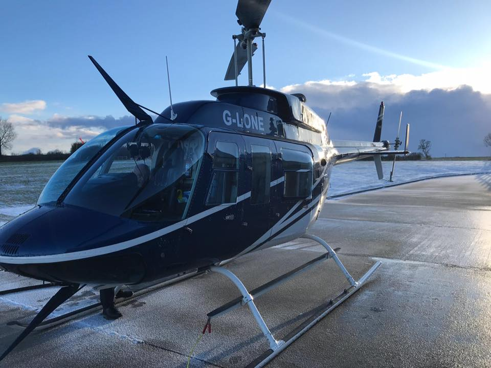 best winter helicopter pleasure flights